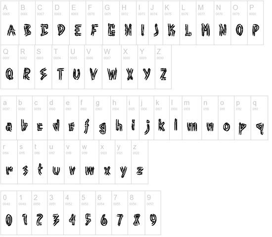 Punk font free