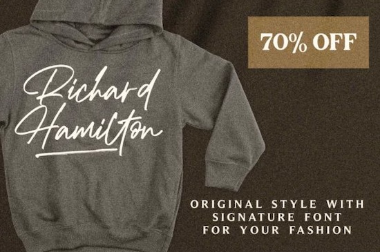 Richard Hamilton font free download