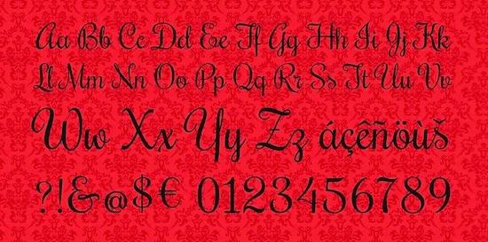 Rochester font