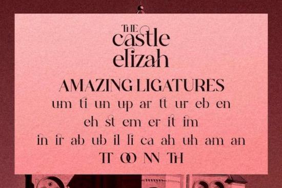 The Castle Elizah font download