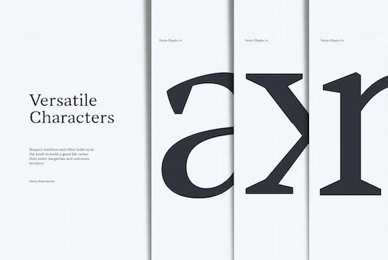 Vanio font free