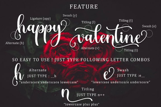 Withrose font download