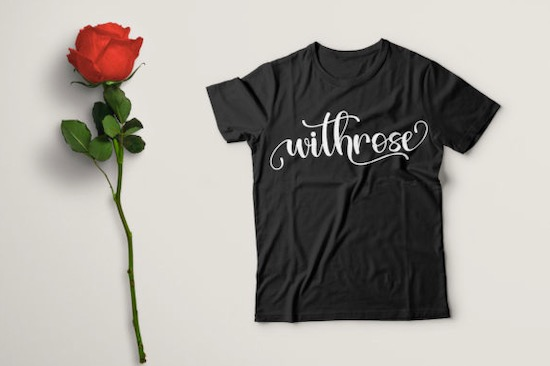 Withrose font free download