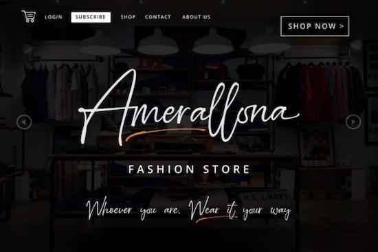 Amsterland font download