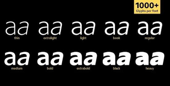 Ardena font download