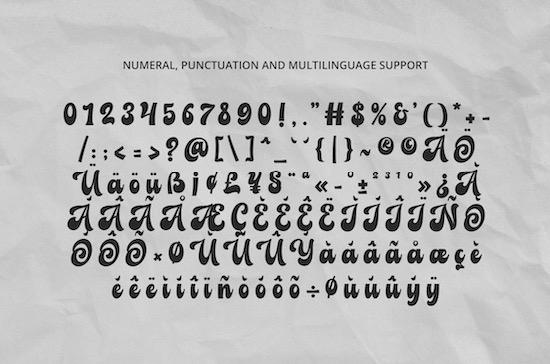 Balbaleo font download