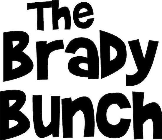 Brady Bunch font free
