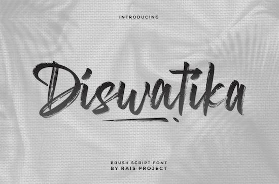 Diswatika font free download