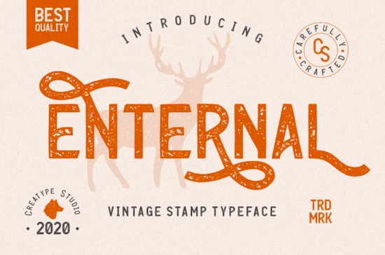 Enternal font