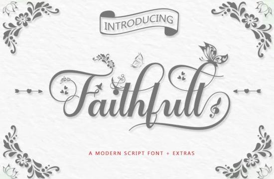 Faithfull font free download