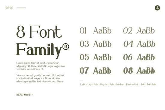 Gillalo font free