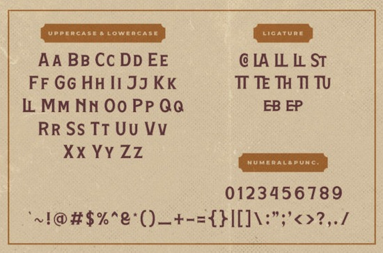Hamston font download