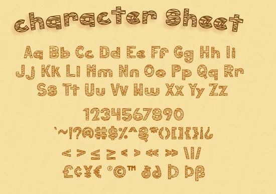 Hollow Mummy font download