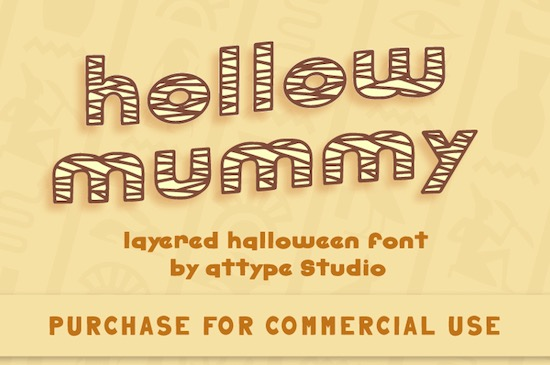 Hollow Mummy font free download