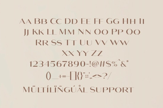 Maghony font download