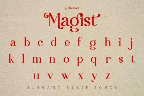 Magist font download
