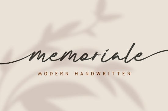 Memoriale font free download