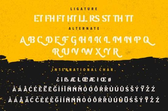 Modest font download