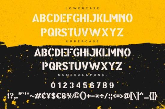 Modest font free