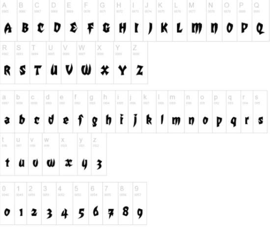 Mortal Kombat font free