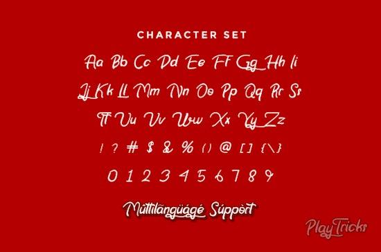 Play Tricks font free