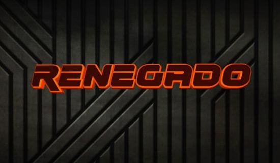Renegado font free