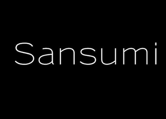 Sansumi font download
