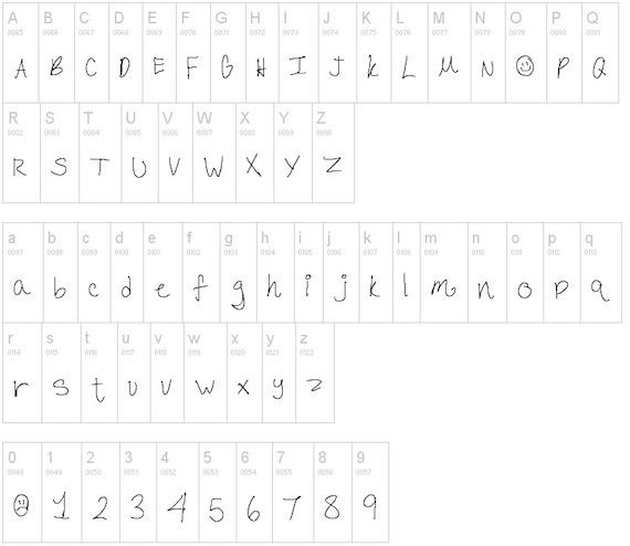 Scribble font free