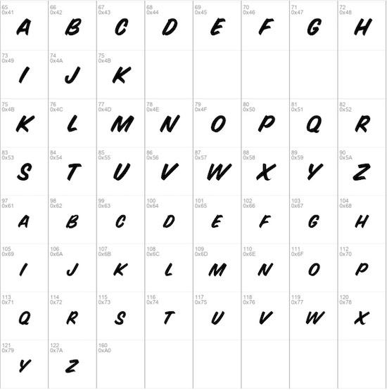 Sign Painter regular font download