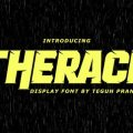 Therace font free download
