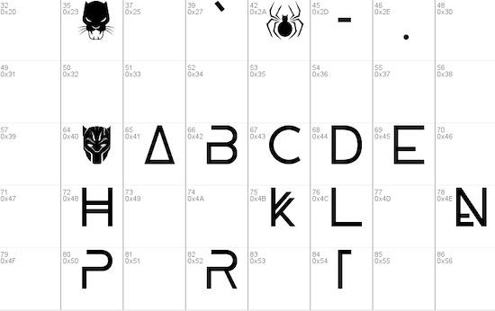 Wakanda font download