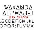 Wakanda font free download
