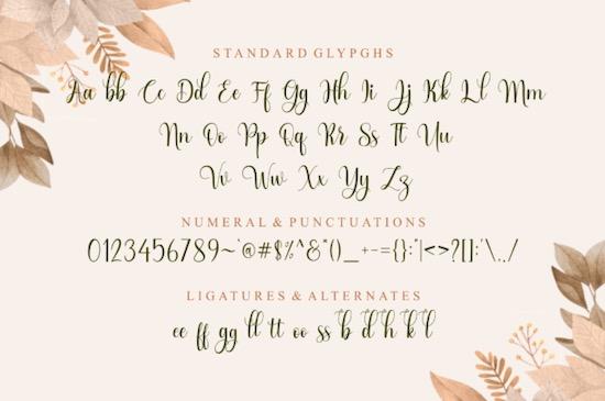 Wild Love font free