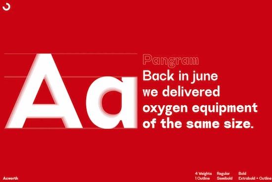 Acworth font download