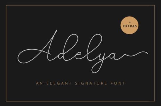 Adelya font free download