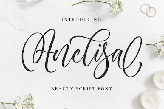 Anelisa font free download