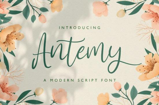 Antemy font free download