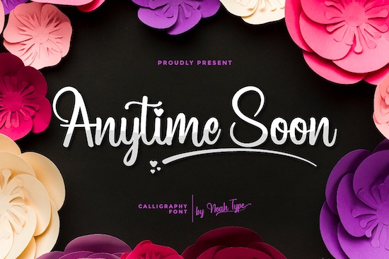 Anytime Soon font free download
