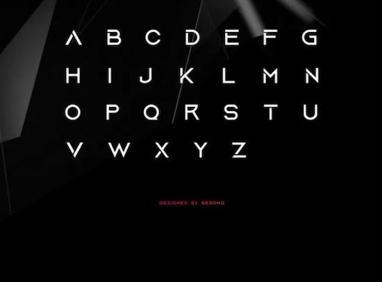 Aquire font download