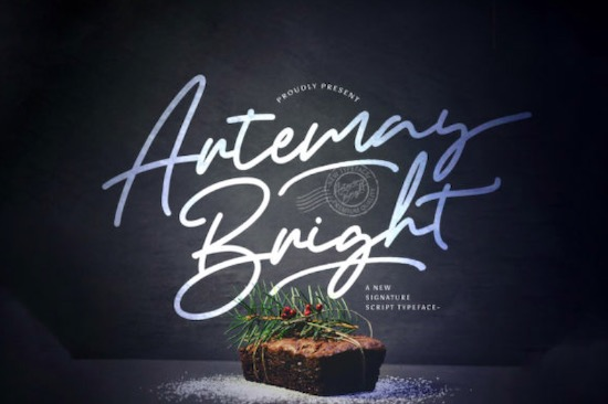 Artemay Bright font free download