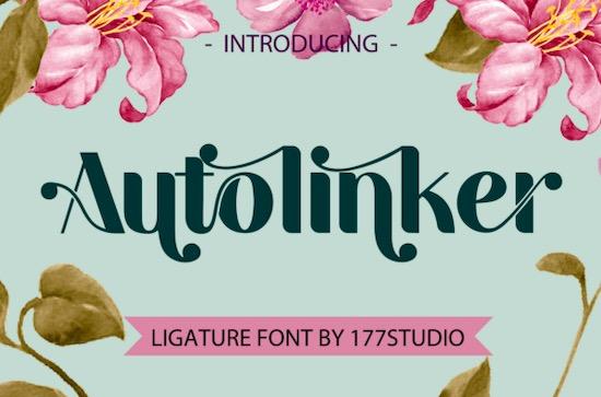 Autolinker font free download