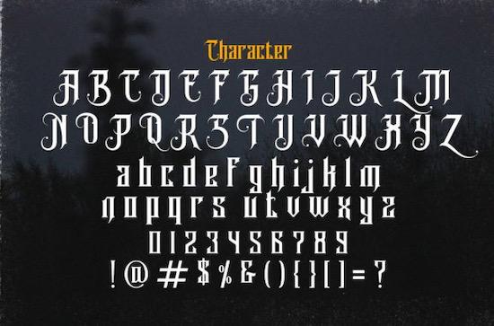 Avalen Rekas font