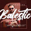 Balestic font free download
