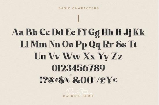 Basking font free