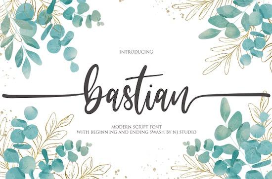 Bastlian font free download