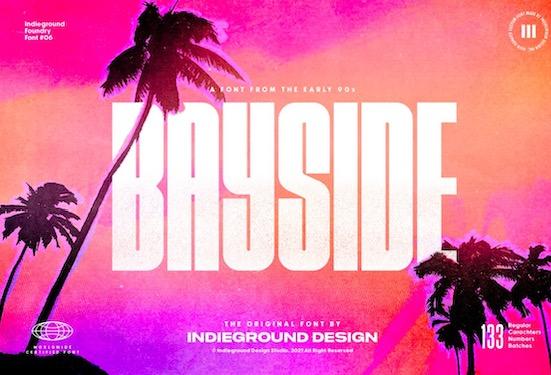 Bayside font free download