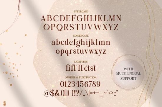 Bright Gesture font free