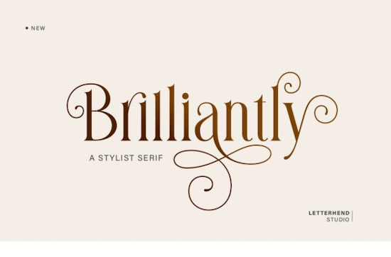 Brilliantly font free download