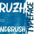Bruzh font free download