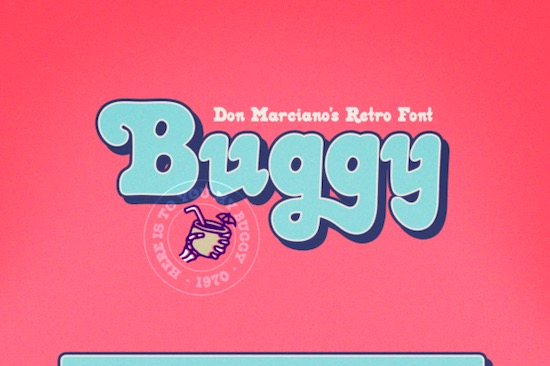 Buggy font free download